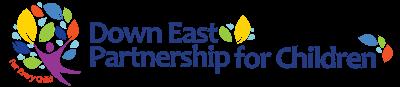 The Down East Partnership for Children Logo